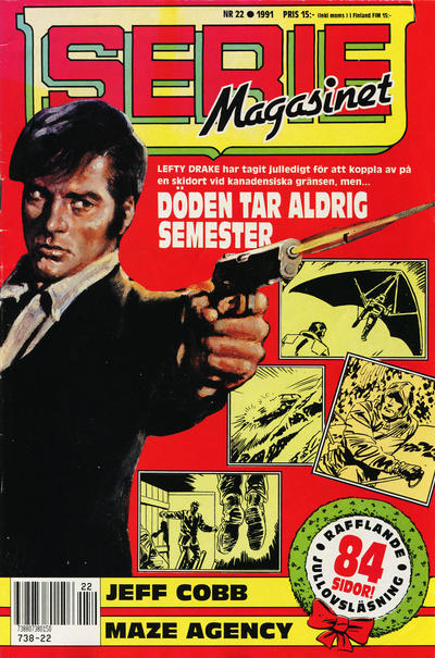 Cover for Seriemagasinet (Semic, 1970 series) #22/1991