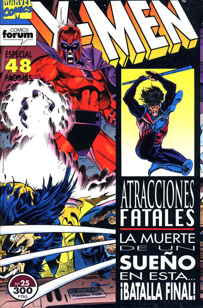 Cover for X-Men (Planeta DeAgostini, 1992 series) #25