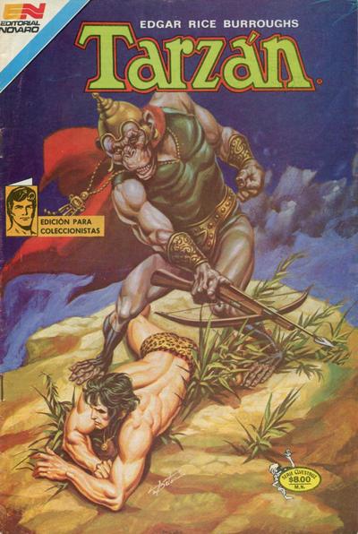 Cover for Tarzan Serie Avestruz (Editorial Novaro, 1975 series) #135