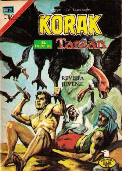 Cover for Korak (Editorial Novaro, 1972 series) #41