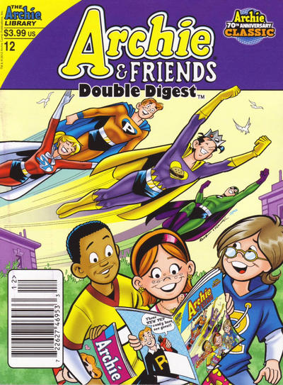 Cover for Archie & Friends Double Digest Magazine (Archie, 2011 series) #12
