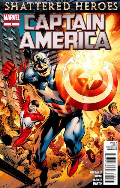 Cover for Captain America (Marvel, 2011 series) #7 [Venom Variant]