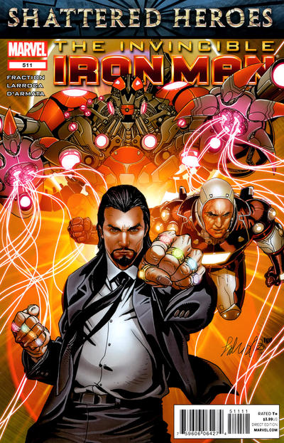 Cover for Invincible Iron Man (Marvel, 2008 series) #511
