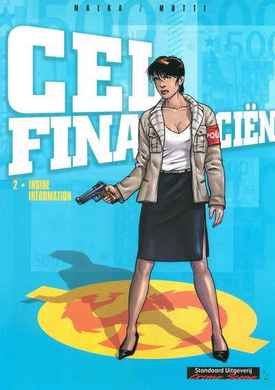 Cover for Cel Financiën (Standaard Uitgeverij, 2006 series) #2 - Inside information