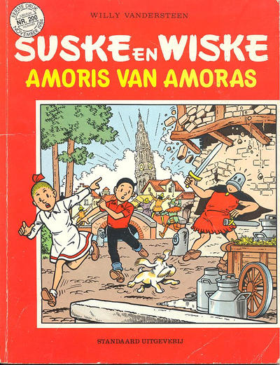 Cover for Suske en Wiske (Standaard Uitgeverij, 1967 series) #200 - Amoris van Amoras
