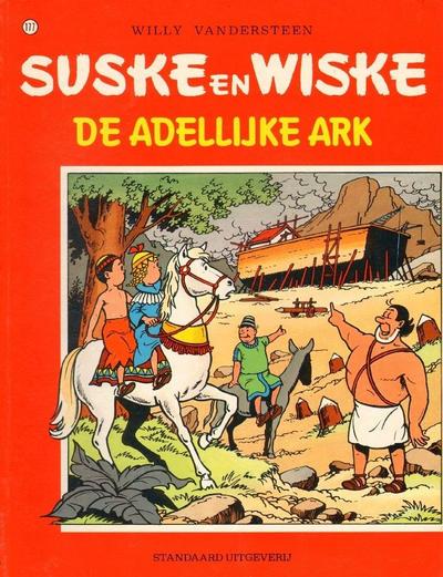 Cover for Suske en Wiske (Standaard Uitgeverij, 1967 series) #177 - De adellijke ark
