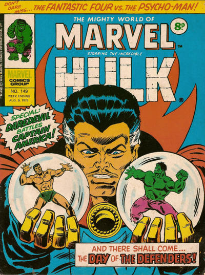 Cover for The Mighty World of Marvel (Marvel UK, 1972 series) #149