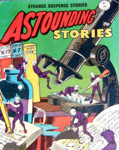 Cover for Astounding Stories (Alan Class, 1966 series) #168