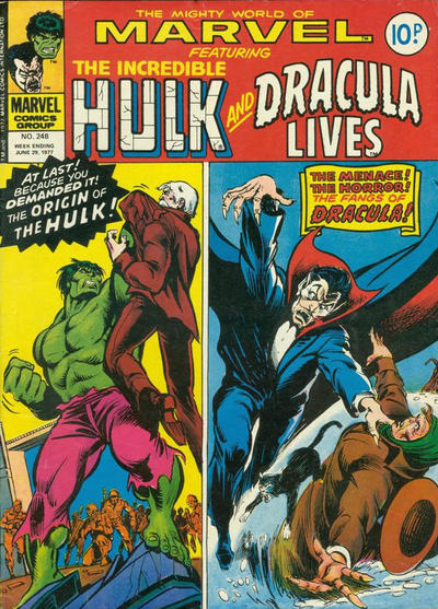 Cover for The Mighty World of Marvel (Marvel UK, 1972 series) #248