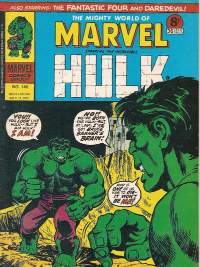 Cover for The Mighty World of Marvel (Marvel UK, 1972 series) #146