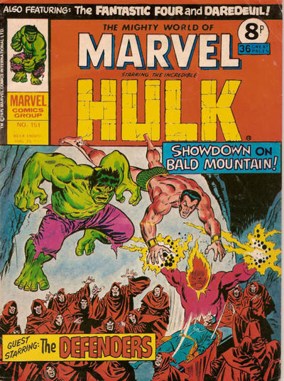Cover for The Mighty World of Marvel (Marvel UK, 1972 series) #151
