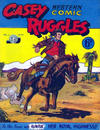 Cover for Casey Ruggles Western Comic (Donald F. Peters, 1951 series) #34