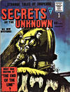 Cover for Secrets of the Unknown (Alan Class, 1962 series) #1