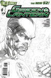 Cover Thumbnail for Green Lantern (2011 series) #1 [Ivan Reis Sketch Cover Variant]