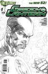 Cover Thumbnail for Green Lantern (2011 series) #1 [Ivan Reis Sketch Cover]