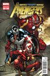 Cover for Avengers (Marvel, 2010 series) #21 [Venom Variant]