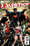 Cover for Justice League (DC, 2011 series) #1 [David Finch / Richard Friend Cover]
