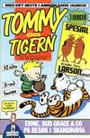 Cover for Tommy og Tigern (Bladkompaniet / Schibsted, 1989 series) #9/1989