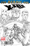 Cover Thumbnail for Uncanny X-Men: The Heroic Age (HA) (2010 series) #1 [Second Printing Cover]