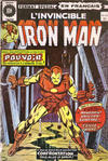 Cover for L'Invincible Iron Man (Editions Héritage, 1972 series) #24