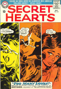 Cover Thumbnail for Secret Hearts (DC, 1949 series) #105