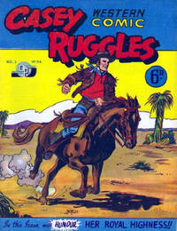 Cover Thumbnail for Casey Ruggles Western Comic (Donald F. Peters, 1951 series) #34
