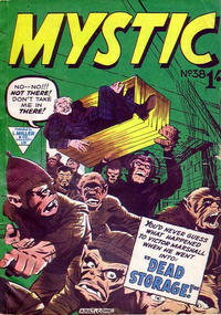 Cover Thumbnail for Mystic (L. Miller & Son, 1960 series) #38
