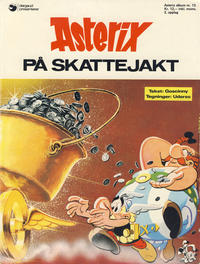 Cover Thumbnail for Asterix (Hjemmet / Egmont, 1969 series) #13 - Asterix på skattejakt [3. opplag]