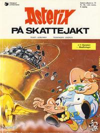 Cover Thumbnail for Asterix (Hjemmet / Egmont, 1969 series) #13 - Asterix på skattejakt [4. opplag]
