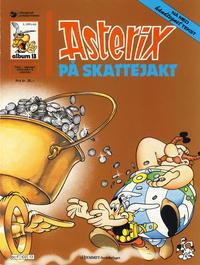 Cover Thumbnail for Asterix (Hjemmet / Egmont, 1969 series) #13 - Asterix på skattejakt [5. opplag]