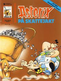 Cover Thumbnail for Asterix (Hjemmet / Egmont, 1969 series) #13 - Asterix på skattejakt [5. opplag Reutsendelse 147 25]