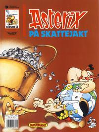Cover Thumbnail for Asterix (Hjemmet / Egmont, 1969 series) #13 - Asterix på skattejakt [7. opplag]