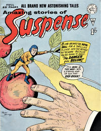 Cover Thumbnail for Amazing Stories of Suspense (Alan Class, 1963 series) #46