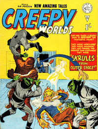 Cover Thumbnail for Creepy Worlds (Alan Class, 1962 series) #33