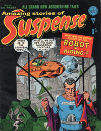 Cover Thumbnail for Amazing Stories of Suspense (Alan Class, 1963 series) #16