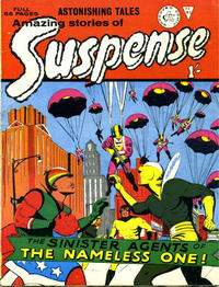 Cover Thumbnail for Amazing Stories of Suspense (Alan Class, 1963 series) #93