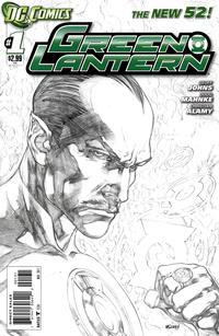 Cover Thumbnail for Green Lantern (DC, 2011 series) #1 [Ivan Reis Sketch Cover]
