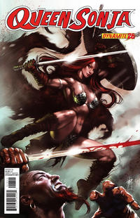Cover Thumbnail for Queen Sonja (Dynamite Entertainment, 2009 series) #26 [Lucio Parrillo Cover]