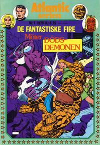 Cover Thumbnail for Atlantic-serien [Fantastiske Fire] (Atlantic Forlag, 1978 series) #1/1979