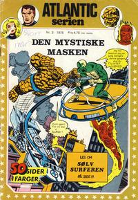 Cover Thumbnail for Atlantic-serien [Fantastiske Fire] (Atlantic Forlag, 1978 series) #3/1978