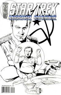 Cover Thumbnail for Star Trek: Mirror Images (IDW, 2008 series) #2 [Cover B - Joe Corroney Black & White]