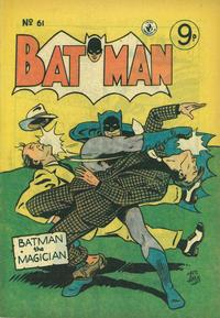 Cover Thumbnail for Batman (K. G. Murray, 1950 series) #61