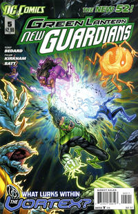 Cover Thumbnail for Green Lantern: New Guardians (DC, 2011 series) #5 [Direct Sales]