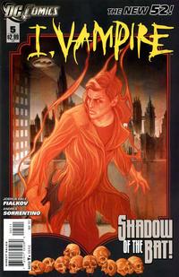Cover Thumbnail for I, Vampire (DC, 2011 series) #5