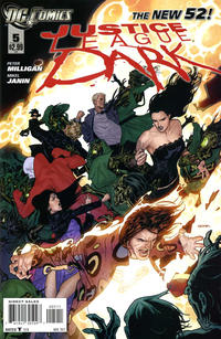 Cover Thumbnail for Justice League Dark (DC, 2011 series) #5