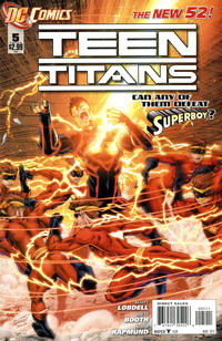 Cover Thumbnail for Teen Titans (DC, 2011 series) #5 [Direct Sales]