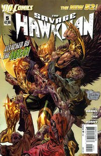 Cover Thumbnail for The Savage Hawkman (DC, 2011 series) #5