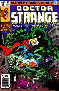 Cover Thumbnail for Doctor Strange (Marvel, 1974 series) #35 [Direct Edition]