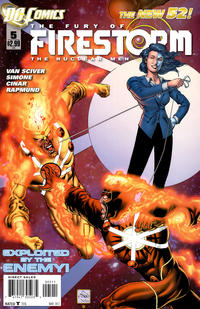 Cover Thumbnail for Fury of the Firestorms: The Nuclear Men (DC, 2011 series) #5