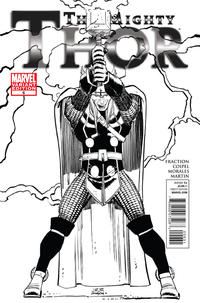 Cover Thumbnail for The Mighty Thor (Marvel, 2011 series) #6 [Architect Sketch Variant]